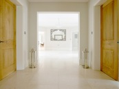 Contemporary limestone flooring